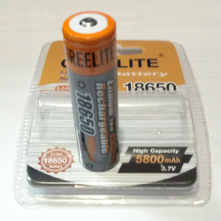 BATTERY GREELITE 18650 blister 5800mah 3,7V