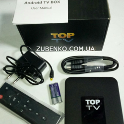 SMART TV BOX Медиаплеер Android TOP TV 2/16